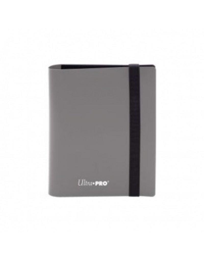 Ultra Pro 2-Pocket Pro Binder Eclipse Smokey Grey Ultra Pro