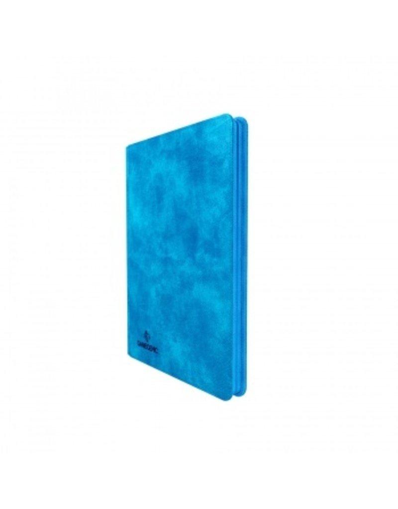 Gamegenic Zip-Up Album 18-Pocket Blue Gamegenic