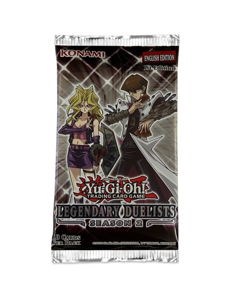 Yu-Gi-Oh! Legendary Duelists Season 2 Booster Pack Yu-Gi-Oh!