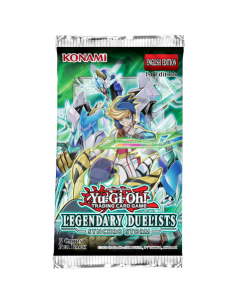Yu-Gi-Oh! Legendary Duelist 8: Synchro Storm Booster Pack