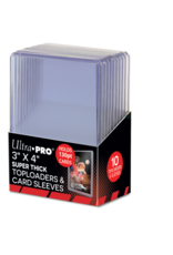Ultra Pro Toploader Super Thick 130PT with Thick Card Sleeves Ultra Pro