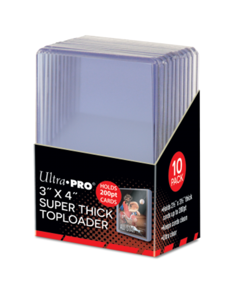 Ultra Pro Toploader Super Thick 200PT Ultra Pro