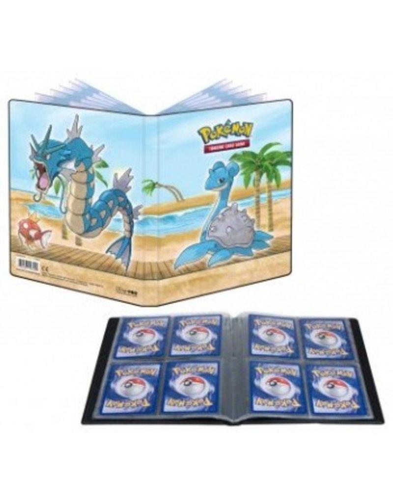 Ultra Pro Pokemon Gallery Series Seaside 4-Pocket Portfolio Ultra Pro