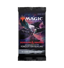 Magic The Gathering Adventures in the Forgotten Realms Draft Booster MTG