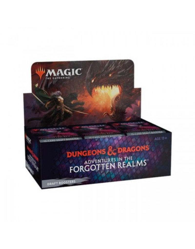 Magic The Gathering Adventures in the Forgotten Realms Draft Booster Box MTG