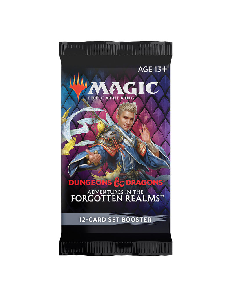 Magic The Gathering Adventures in the Forgotten Realms Set Booster MTG