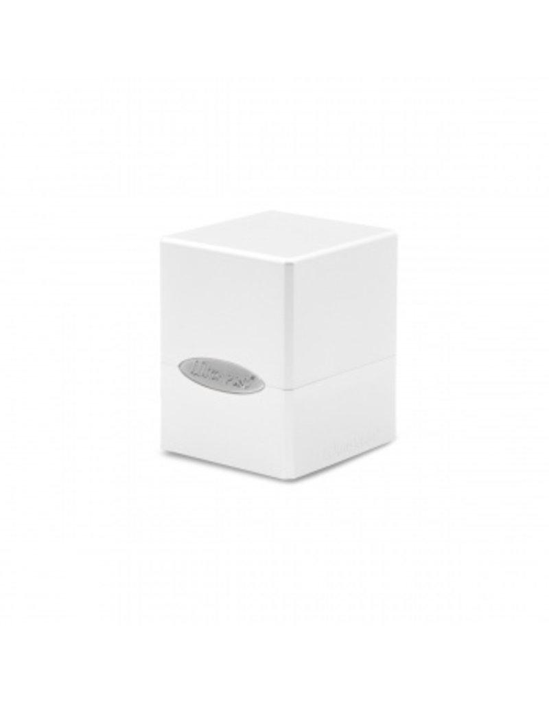 Ultra Pro Deck Box - Satin Cube - Arctic White Ultra Pro