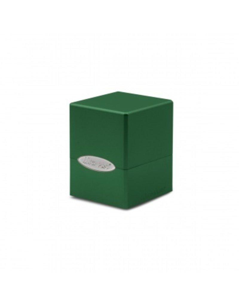 Ultra Pro Deck Box - Satin Cube - Forest Green Ultra Pro