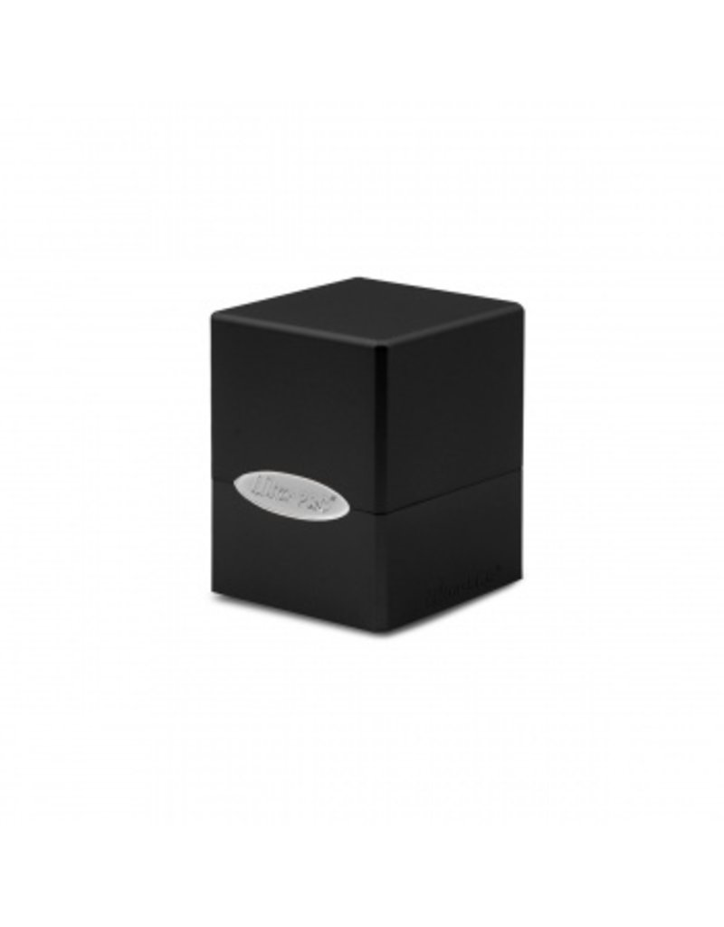 Ultra Pro Deck Box - Satin Cube - Jet Black Ultra Pro