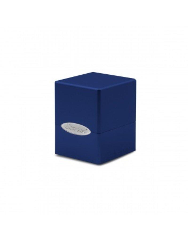 Ultra Pro Deck Box - Satin Cube - Pacific Blue Ultra Pro