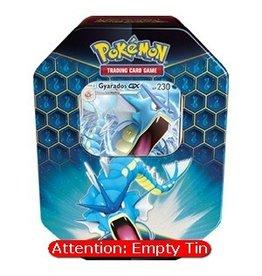 The Pokémon Company Empty Pokemon Tin: Hidden Fates - Gyarados