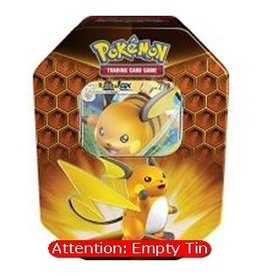 The Pokémon Company Empty Pokemon Tin: Hidden Fates - Raichu