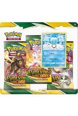 The Pokémon Company Pokemon Sword & Shield Evolving Skies 3-Booster Blister Eiscue
