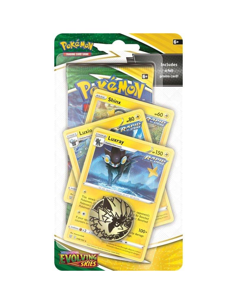 The Pokémon Company Pokemon Sword & Shield Evolving Skies Premium Checklane Luxray