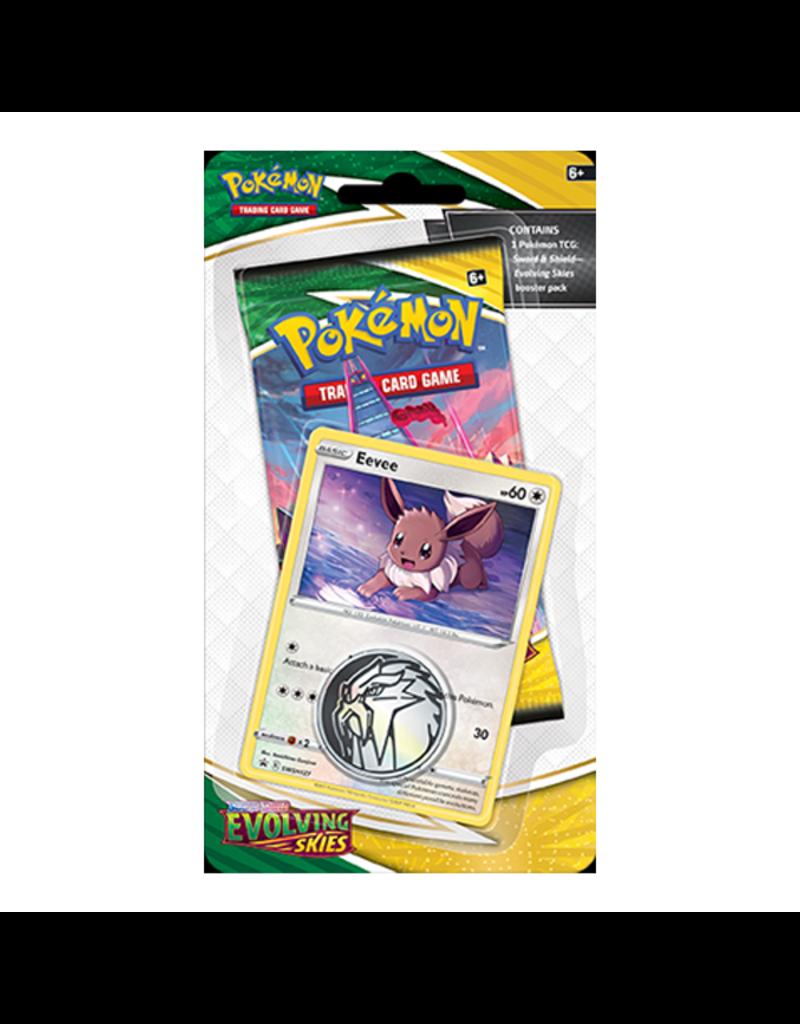 The Pokémon Company Pokemon Sword & Shield Evolving Skies Checklane Blister - Eevee