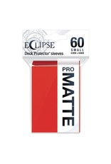 Ultra Pro Eclipse Small Matte Sleeves - Apple Red Ultra Pro