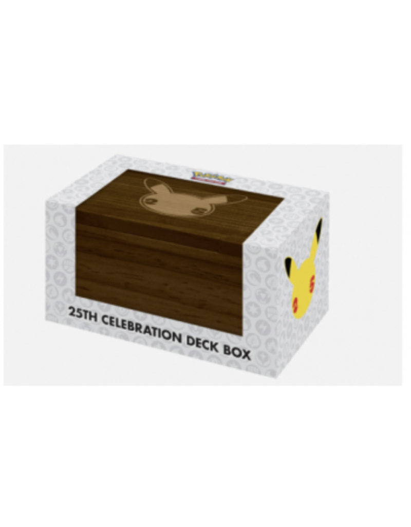 The Pokémon Company Pokemon 25th Anniversary Deck Box Ultra Pro