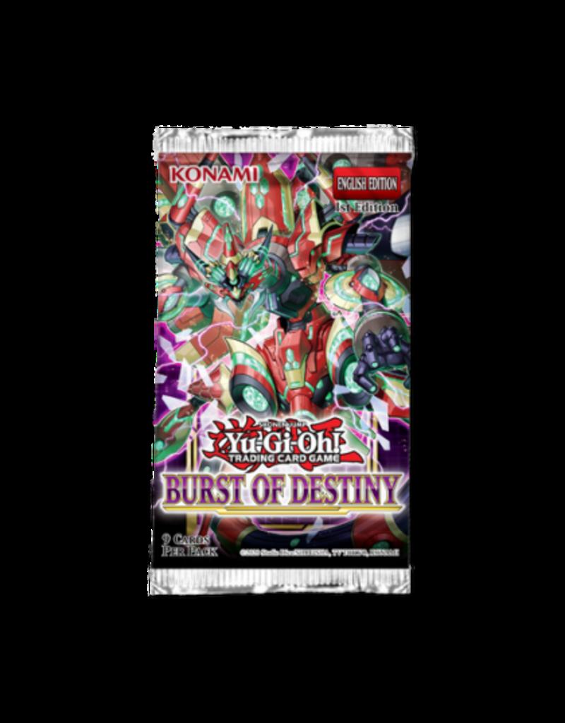 Yu-Gi-Oh! Burst of Destiny Booster Pack Yu-Gi-Oh!