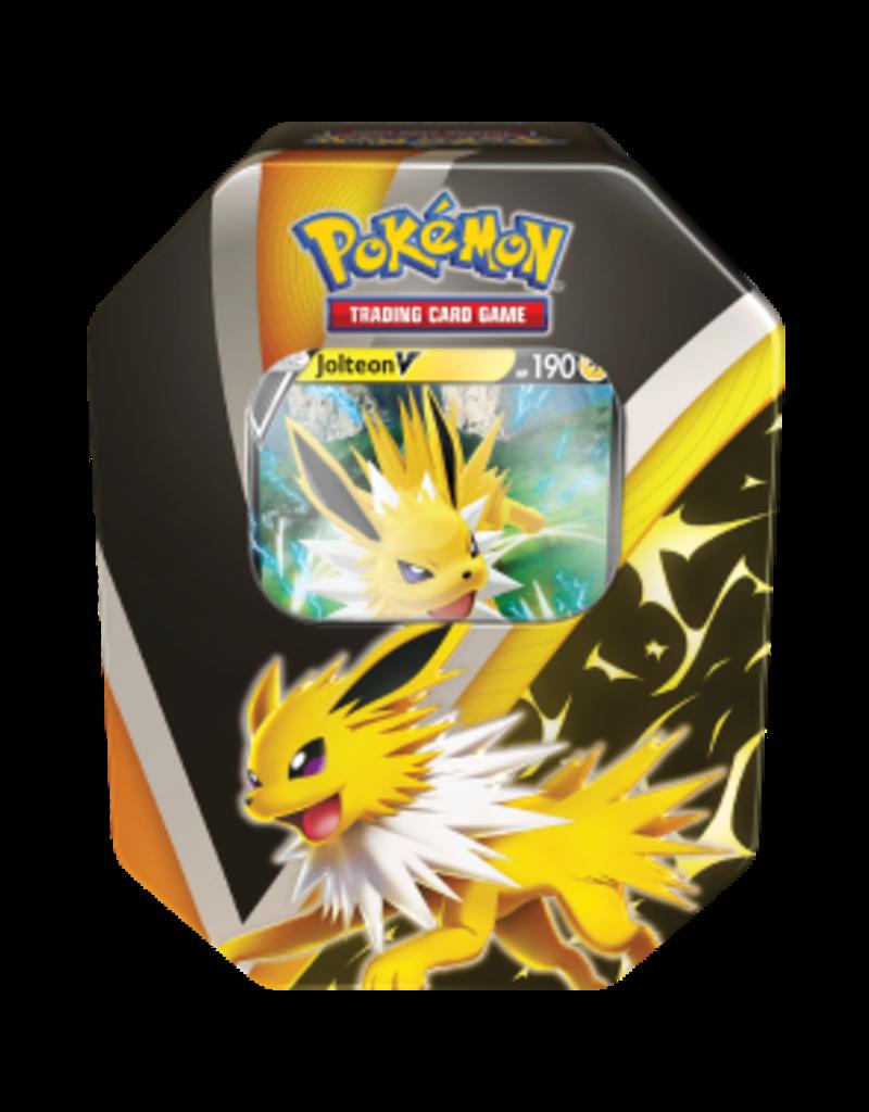 The Pokémon Company Pokemon Sword & Shield Fall Tin Jolteon V