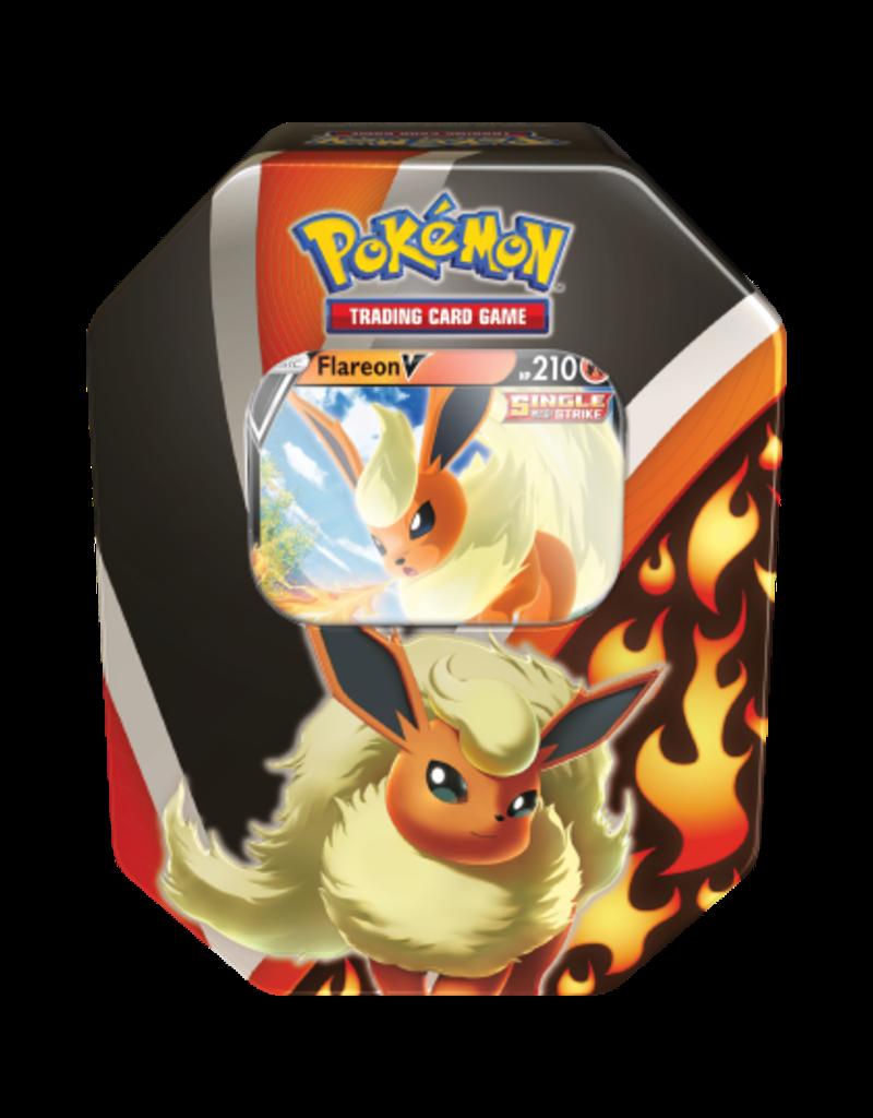 The Pokémon Company Pokemon Sword & Shield Fall Tin Flareon V