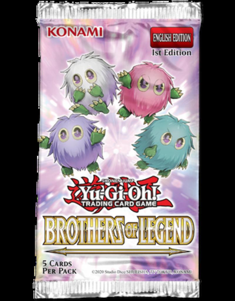 Yu-Gi-Oh! Brothers of Legend Booster Pack Yu-Gi-Oh!