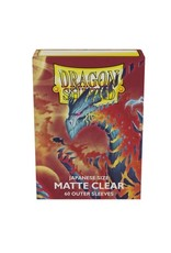 Dragon Shield Dragon Shield Japanese Size Matte Clear Outer Sleeves - Clear (60 Sleeves)