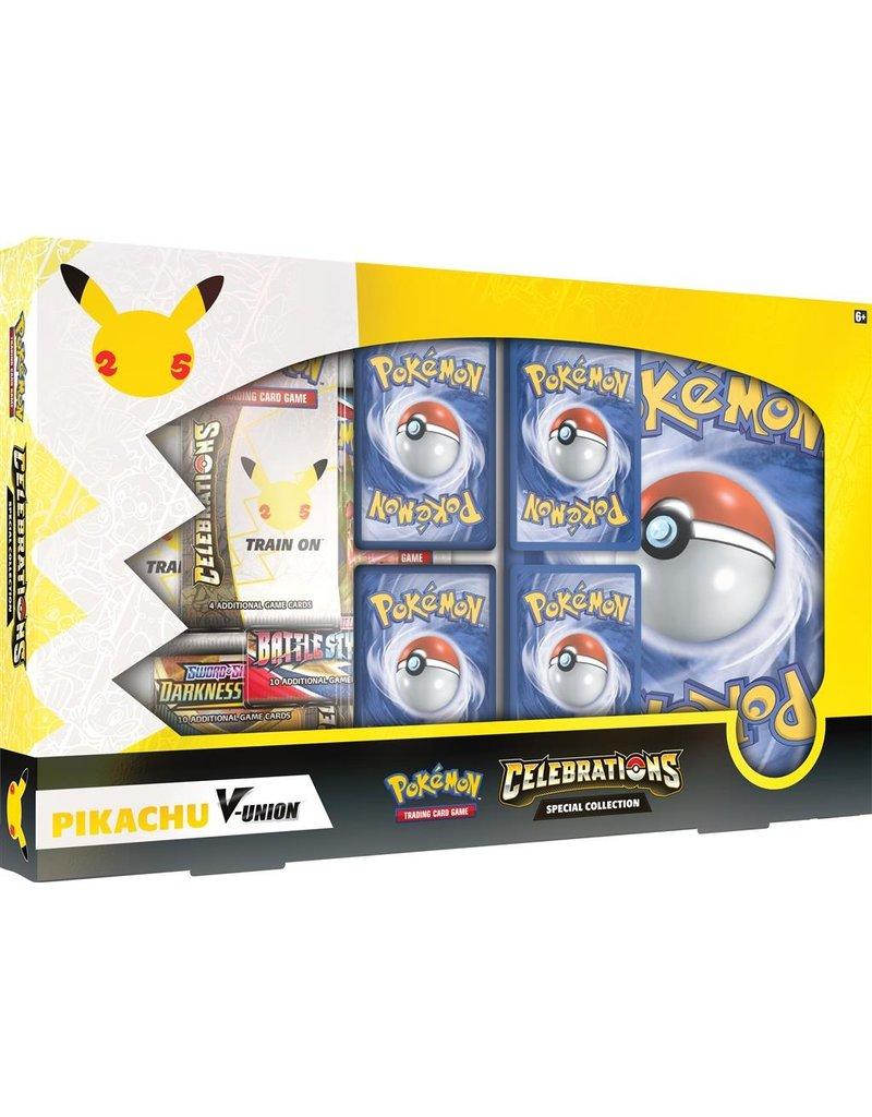 The Pokémon Company Pokemon 25th Celebrations Pikachu V Union Special Collection
