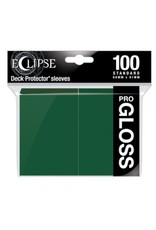Ultra Pro Eclipse Standard Gloss Sleeves - Forest Green Ultra Pro