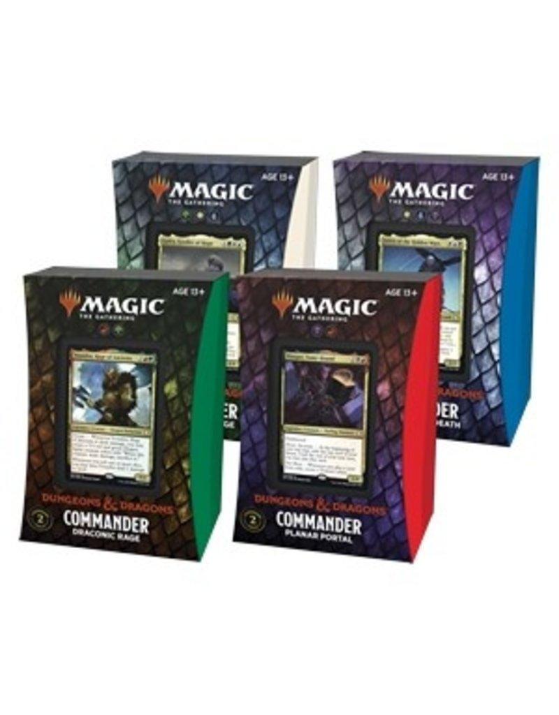 Magic The Gathering Adventures in the Forgotten Realms Commander Deck Full Set (4 Decks) MTG