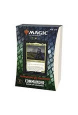 Magic The Gathering Adventures in the Forgotten Realms Commander Deck - Aura of Courage MTG