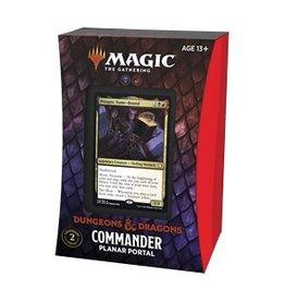 Magic The Gathering Adventures in the Forgotten Realms Commander Deck Planar Portal MTG