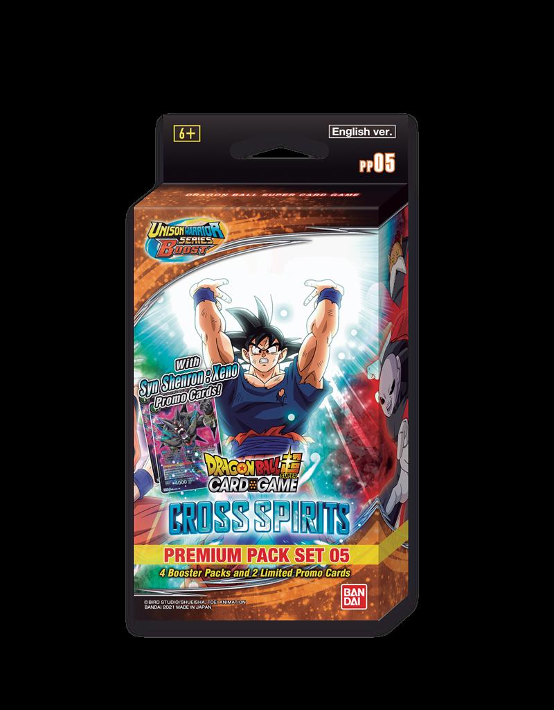 Dragon Ball Super Card Game Dragon Ball SCG Premium Pack Set 05