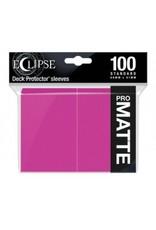Ultra Pro Eclipse Standard Matte Sleeves - Hot Pink Ultra Pro