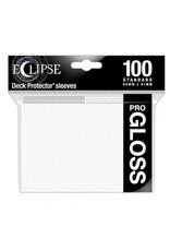 Ultra Pro Eclipse Standard Gloss Sleeves - Arctic White Ultra Pro