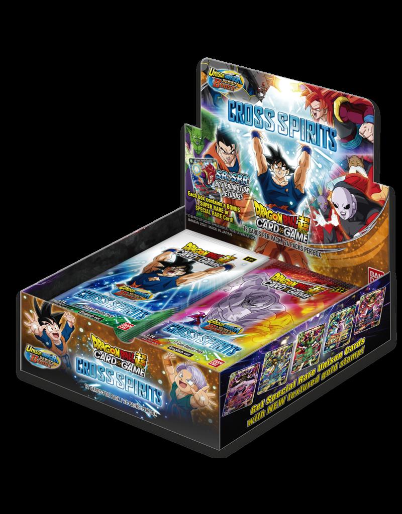 Dragon Ball Super Card Game Dragon Ball SCG S14 Unison Warrior Series Set 5 Cross Spirits Booster Box