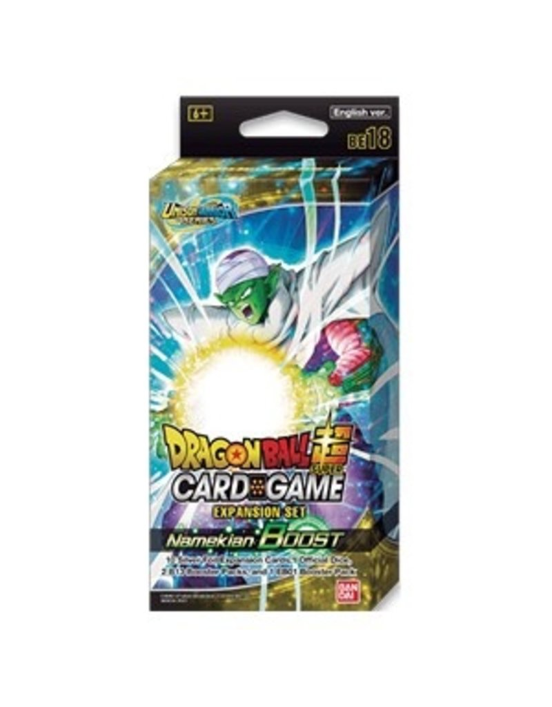 Dragon Ball Super Card Game Dragon Ball SCG Expansion Set 18 Namekian Boost