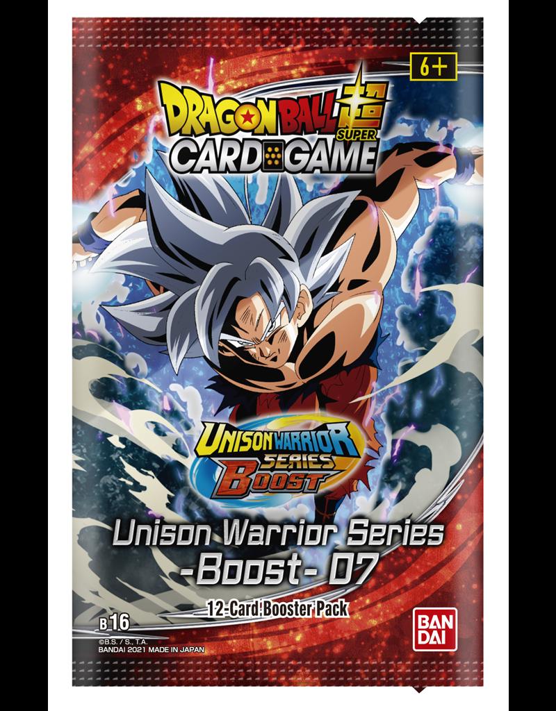 Dragon Ball Super Card Game DragonBall Super Card Game - Unison Warrior Series Set 7 (B16) Booster Pack
