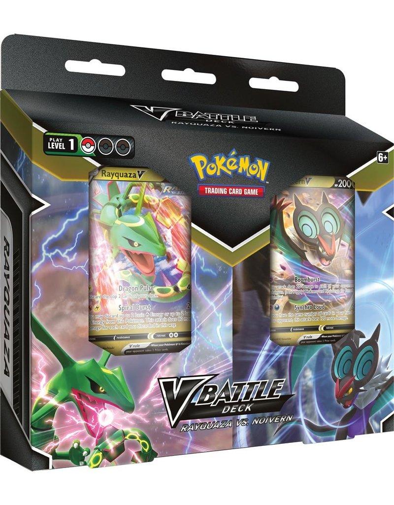 The Pokémon Company Pokemon October V Battle Deck Bundle - RayquazaV/NoivernV