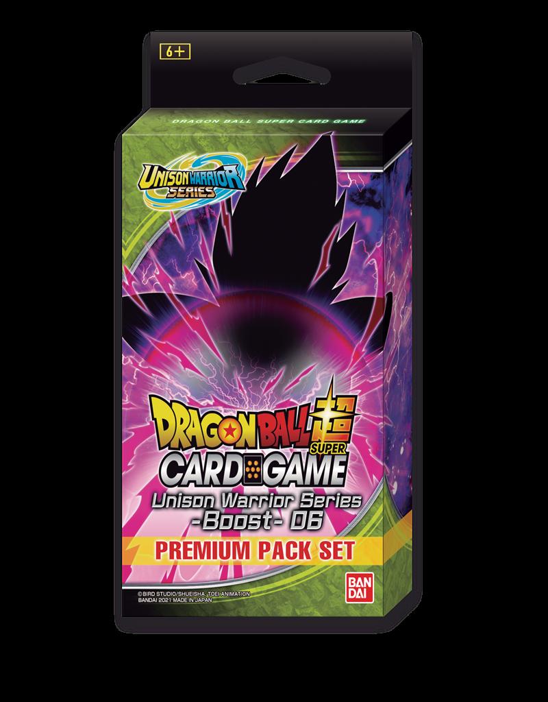 Dragon Ball Super Card Game Dragon Ball SCG Premium Pack Set 6 PP06