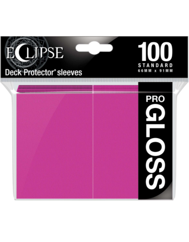 Ultra Pro Eclipse Standard Gloss Sleeves - Hot Pink Ultra Pro