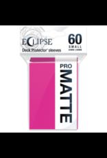 Ultra Pro Eclipse Small Matte Sleeves - Hot Pink Ultra Pro