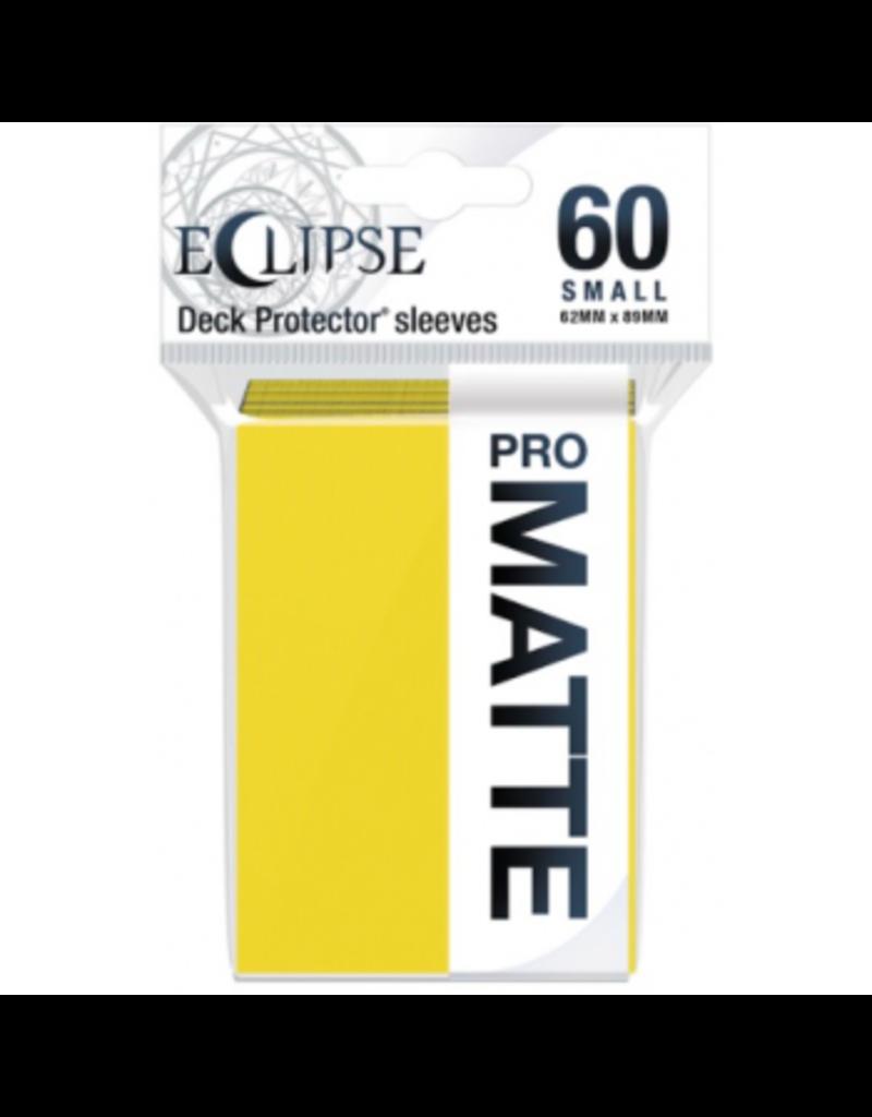 Ultra Pro Eclipse Small Matte Sleeves - Lemon Yellow Ultra Pro