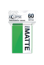 Ultra Pro Eclipse Small Matte Sleeves - Lime Green Ultra Pro
