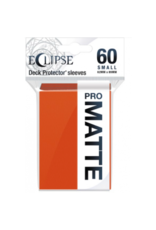Ultra Pro Eclipse Small Matte Sleeves - Pumpkin Orange Ultra Pro