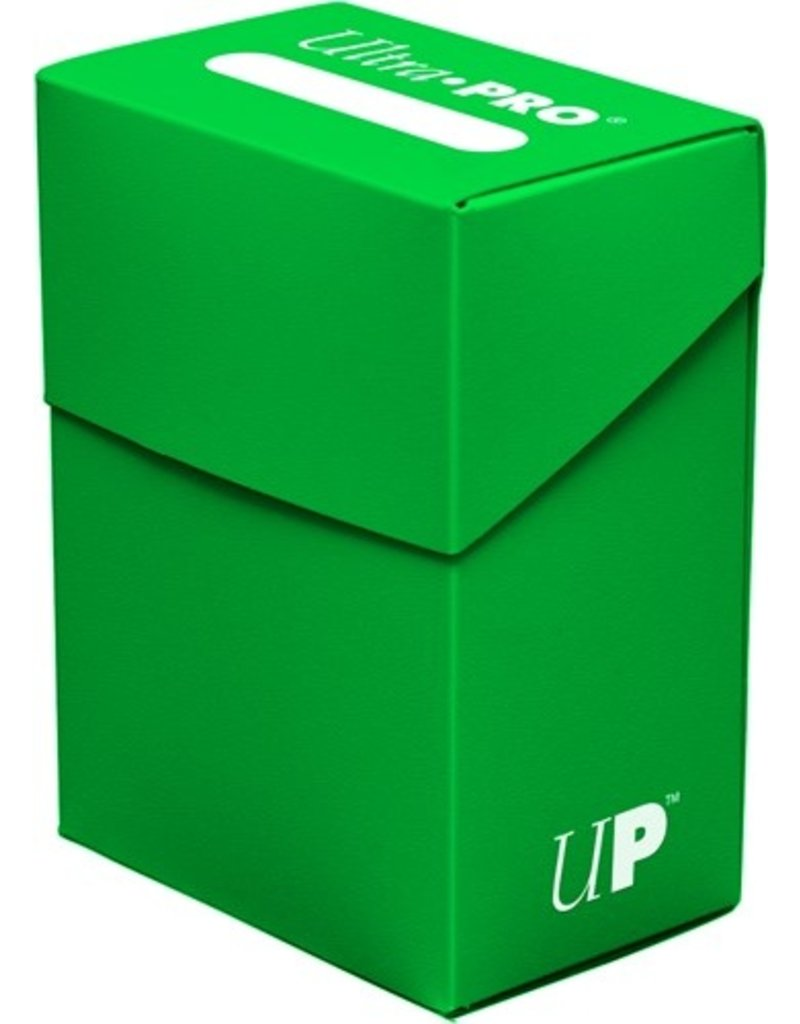 Ultra Pro Deck Box Solid Lime Green Ultra Pro