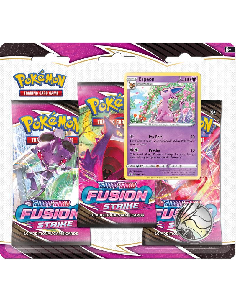 The Pokémon Company Pokemon Sword & Shield Fusion Strike 3-Booster Blister Espeon