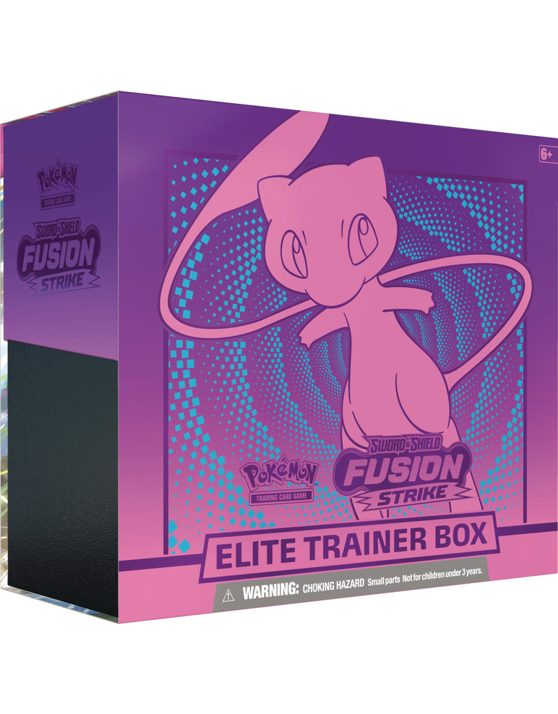 The Pokémon Company Pokemon Sword & Shield Fusion Strike Elite Trainer Box