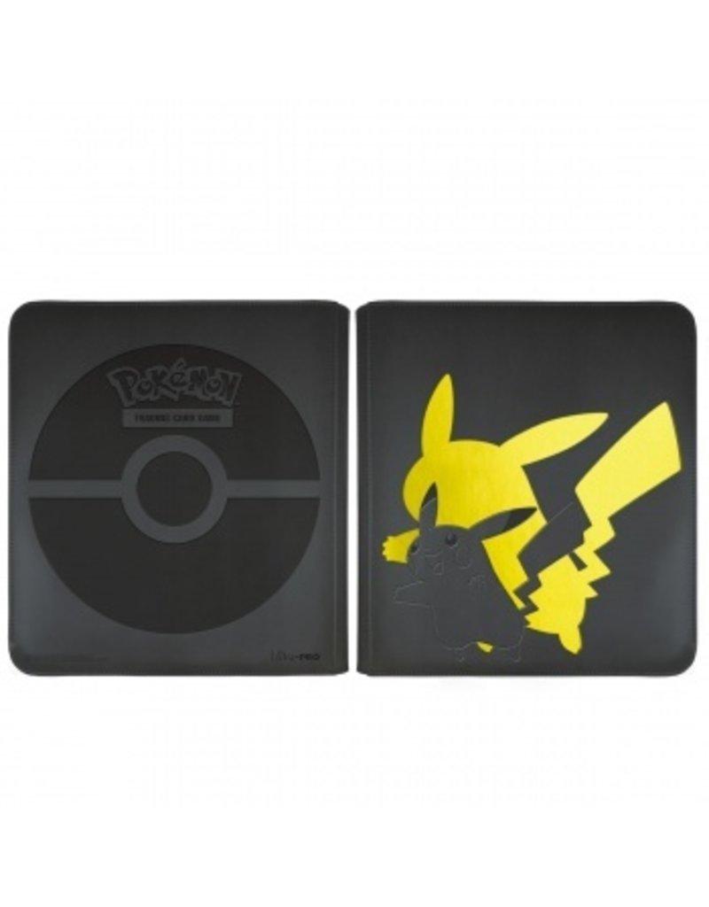 Ultra Pro Pokemon Elite Series Pikachu - 12-Pocket Zippered Pro-Binder