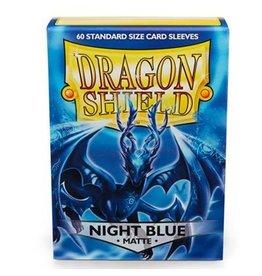 Dragon Shield Dragon Shield Standard Matte  Sleeves - Night Blue (60)