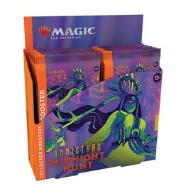 Magic The Gathering Innistrad: Midnight Hunt Collector's Booster Box MTG